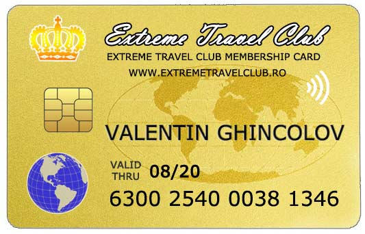 Extreme Travel Club Card